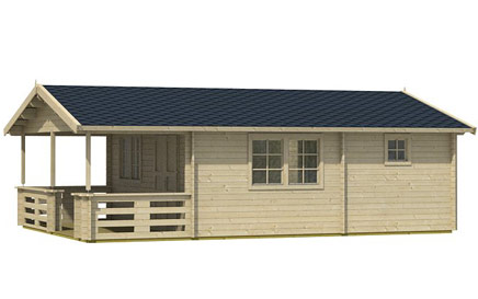 The Tormes Cabin Side View