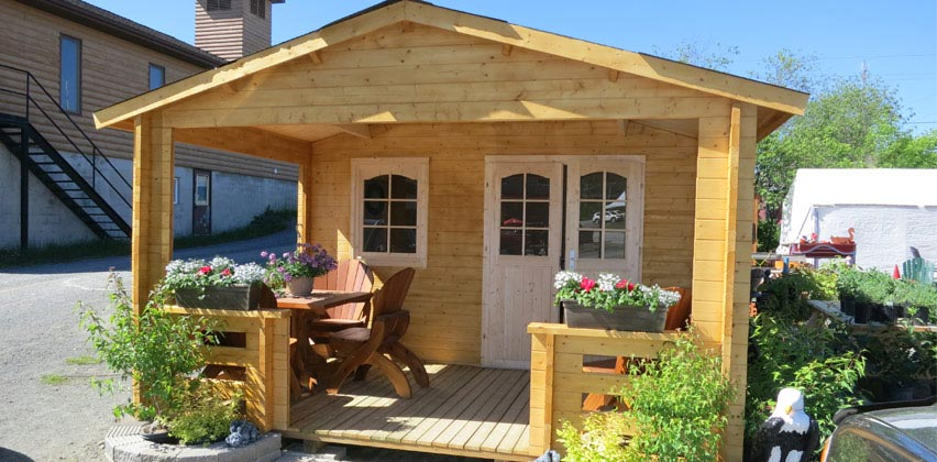 Ez log northern ontario the montana cabin for Cabin kits northern california